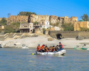 KP Tourism Rifting Kabul River