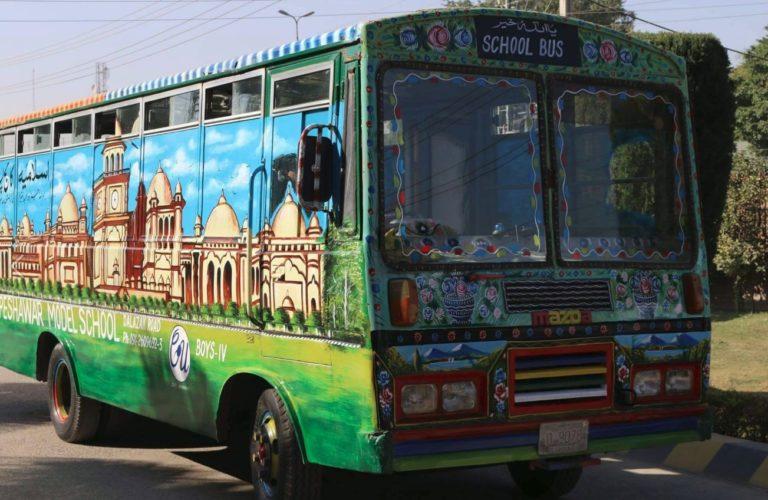 peshawar bus art
