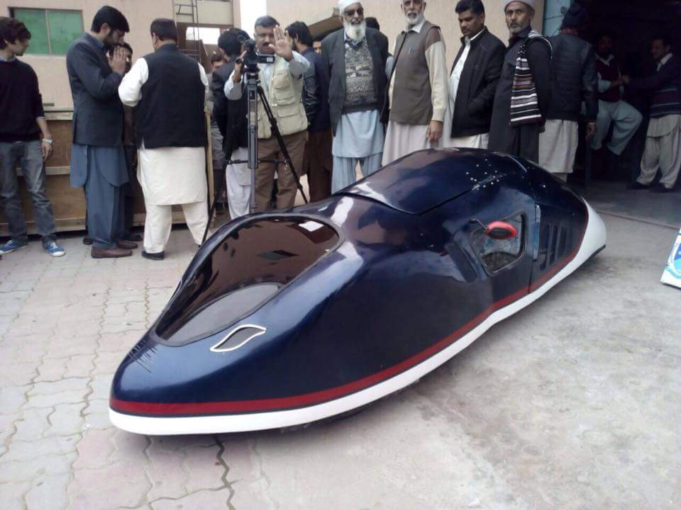 Sarhad University Car