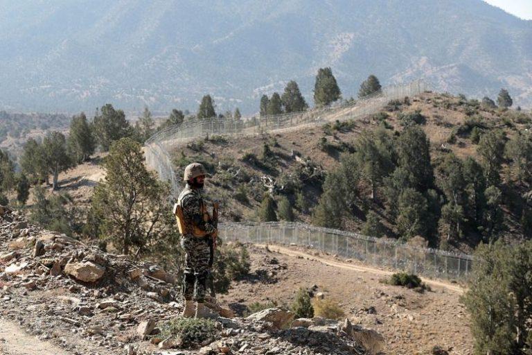Pak Afghan Border Fence